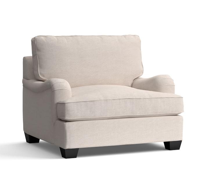 PB English Arm Upholstered Armchair | Pottery Barn