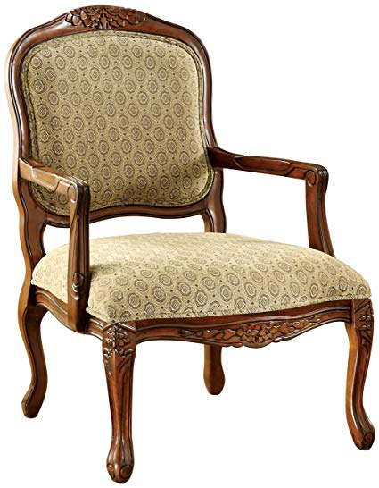 Amazon.com: Furniture of America Sonoma English Style Armchair