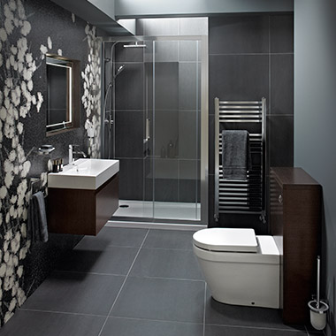 What is different when designing an ensuite bathroom?