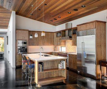 Evergreen - rustic - Kitchen - Portland - Axiom Luxury Homes   House
