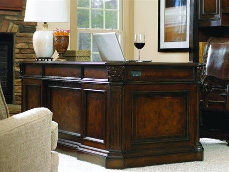 Hooker Furniture European Renaissance II Dark Rich Brown 73''L x 37