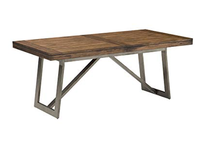 Amazon.com - Stone & Beam Hughes Casual Wood and Metal Extendable