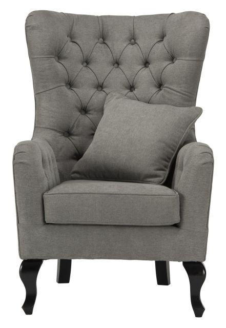 World Furniture Regency Chenille Fabric Armchairs - Fabric Armchairs