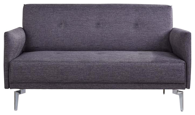 Emma Fabric Modern Loveseat - Contemporary - Loveseats - by us pride