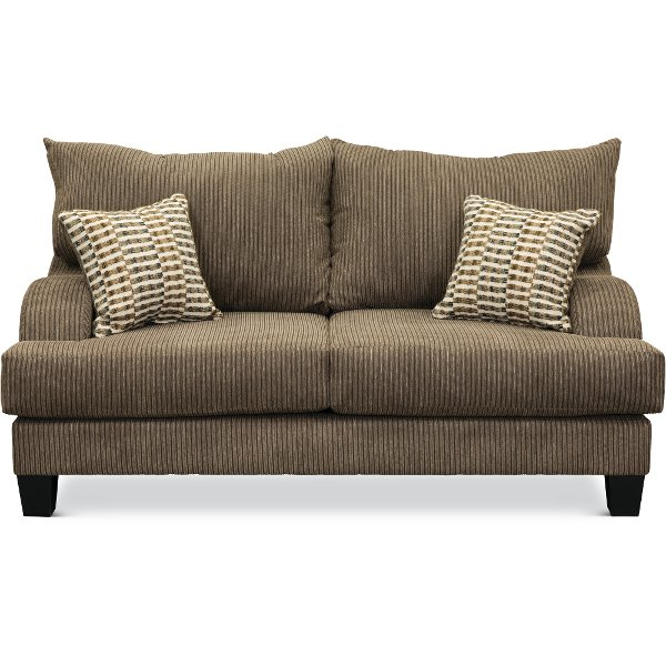 Buy a fabric loveseat for your living room from RC Willey