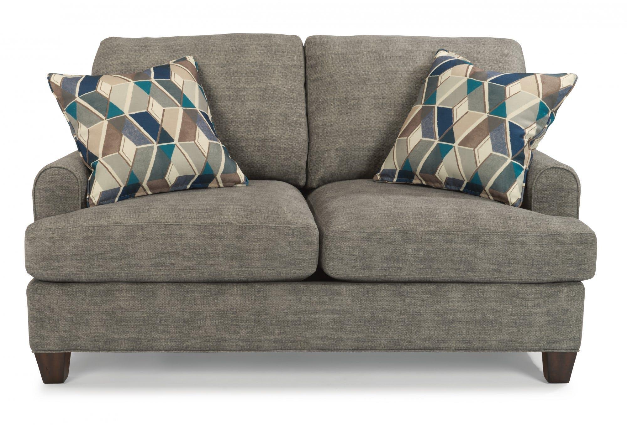 Flexsteel Living Room Fabric Loveseat 5685-20 - Indian River