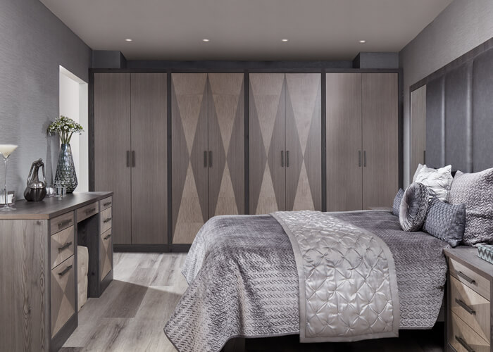 Fitted Wardrobes - Fitted Bedroom Furniture - Neville Johnson