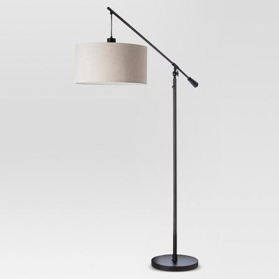Cantilever Drop Pendant Floor Lamp Antique Brown - Threshold™ : Target