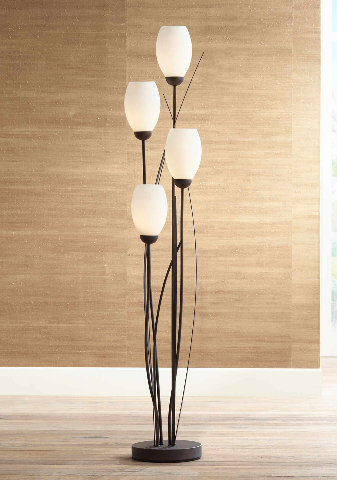 Use of floor lamps