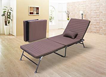 Vesgantti 3-section Single Folding Guest Beds, Luxury Fold Lounge