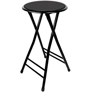 Amazon.com: Trademark Home Folding Stool u2013 Heavy Duty 24-Inch