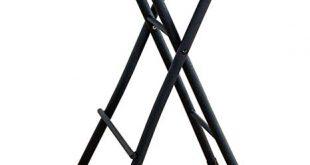 Amazon.com: Black Folding Stool Chair 24