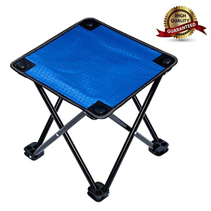 Amazon.com : Garne T Mini Portable Folding Stool, Folding Camp Stool