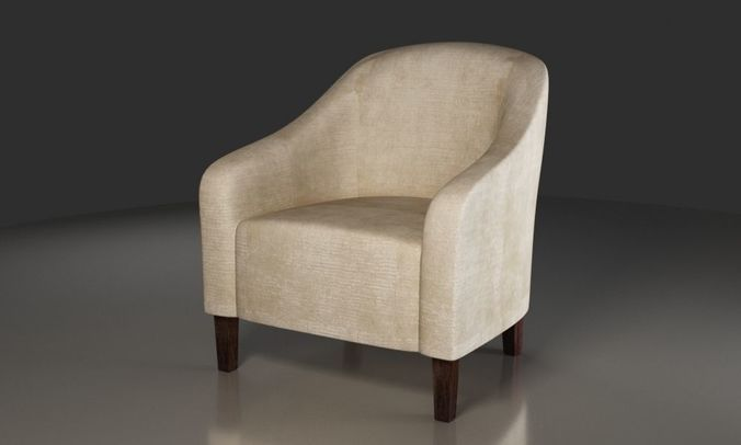 Free Armchair 3D model | CGTrader