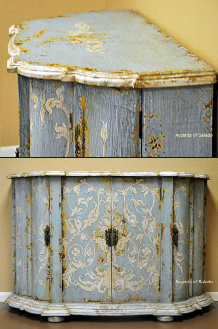 French Country Furniture Hand Painted Furniture