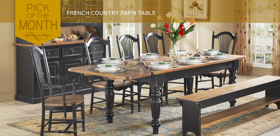 French Country Furniture | Kate Madison Furniture