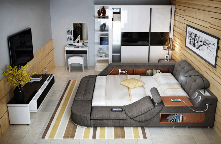 Unusual Furniture Design: These Super-Beds from China Come Loaded