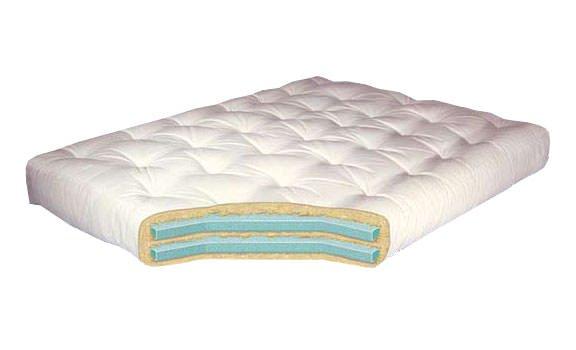 Double Foam 10 Inch Futon Mattress