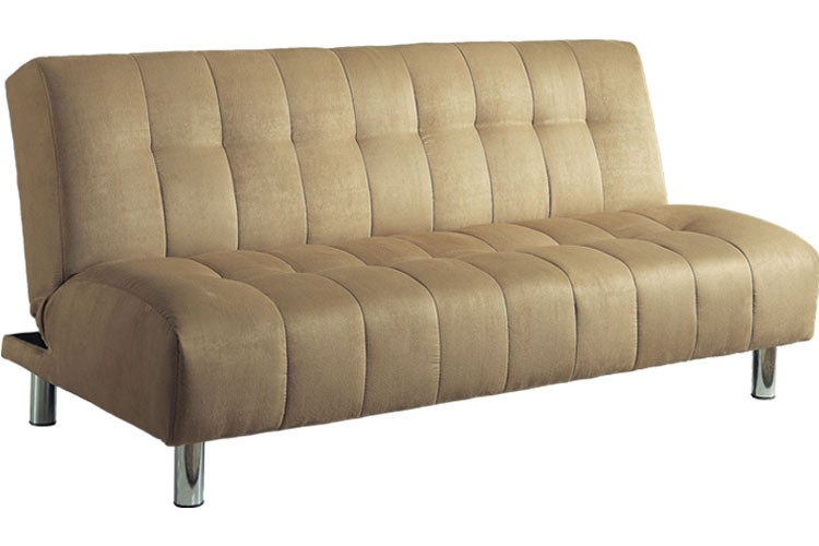 Convertible Futon Couch Sleeper Beige | Chelsea Futon | The Futon Shop