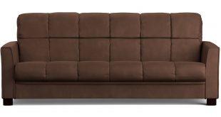 Mainstays Baja Futon Sofa Sleeper Bed, Multiple Colors - Walmart.com