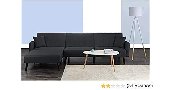 Amazon.com: Divano Roma Furniture Mid Century Modern Style Linen