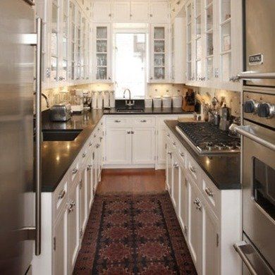 There are many galley kitchen   ideas available to make your kitchen look space effective