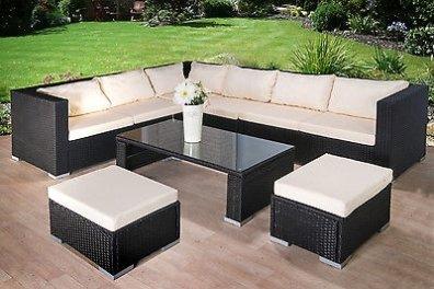 8 Seater Large Corner Sofa Rattan Garden Furniture Set in Mullingar