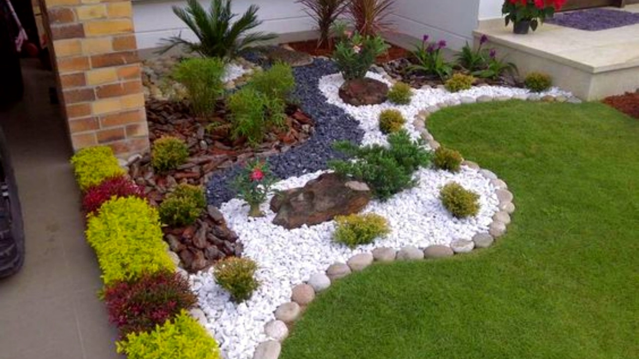 40 Small Garden and Flower Design Ideas 2017 - Amazing Small garden house  decoration Part.2 - YouTube