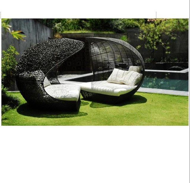 New arrival wicker outdoor patio garden lounge chairs furniture -in