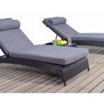 Comfy garden loungers