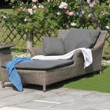 garden loungers all weather garden furniture by bridgman all weather
