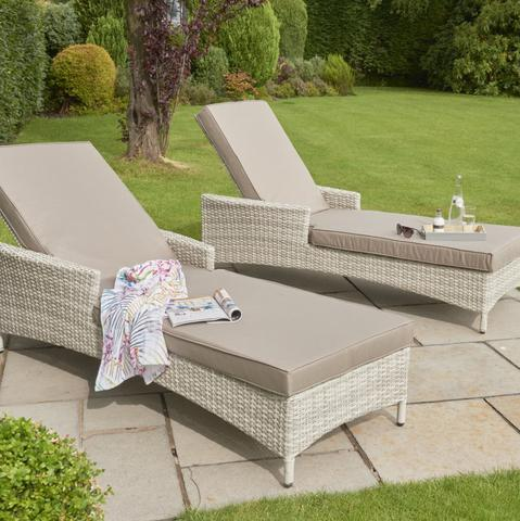 Garden Sun Loungers & Outdoor Daybeds from Harley & Lola