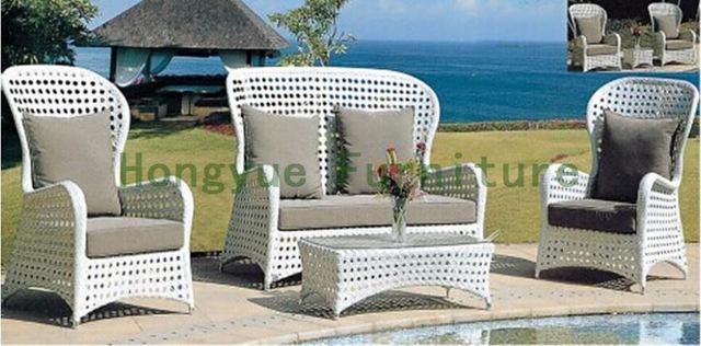 Outdoor garden sofa set in rattan Outdoor sofa furniture-in Garden
