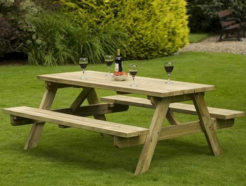 Atholl 1.4m Picnic Table | Stewart Timber