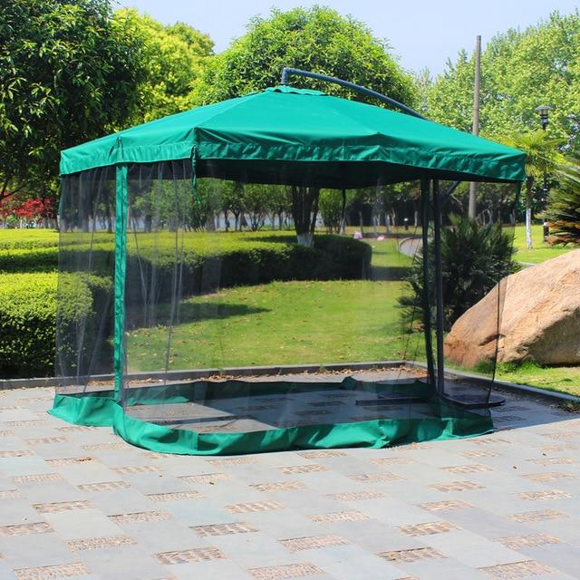2.7 meter steel iron sun garden umbrella parasol patio outdoor