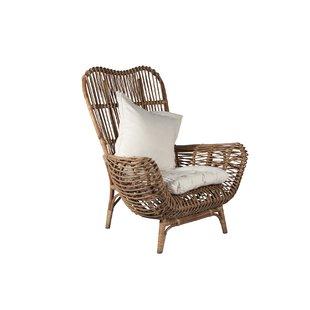 Round Back Wicker Chair | Wayfair