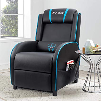 Amazon.com: Homall Gaming Recliner Chair Single Living Room Sofa