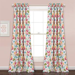 Kids Curtains Girls | Wayfair