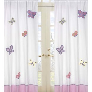 Kids Curtains Girls Purple | Wayfair