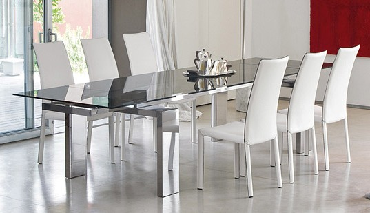 Interior Fancy Glass Dining Room 14 Breathtaking Table And Chairs