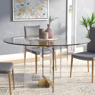 Gold Base Dining Table | Wayfair