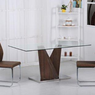Large Glass Dining Table | Wayfair.co.uk