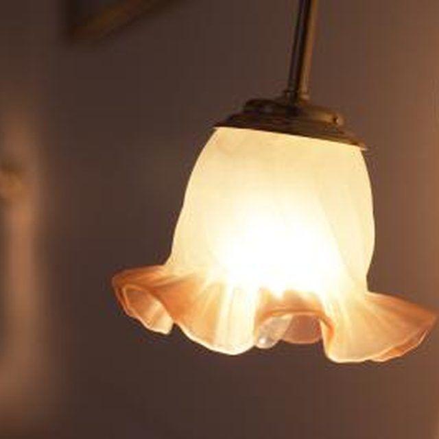 How to Paint Light Globes | Home improvements | Glass light fixtures