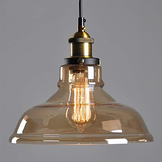 E27 40W Edison Ceiling light Chandelier Lamp Shade Industrial