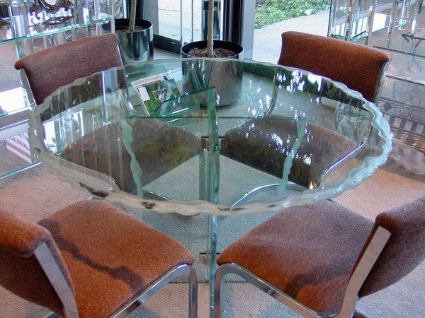 Skokie Glass Tables | Skokie Glass Table Top | Skokie Glass Dining Table