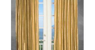 Metallic Gold Curtains | Wayfair