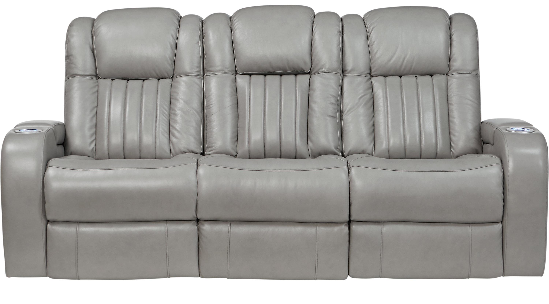 $1,488.00 - Servillo Platinum (grayish white) Leather Power