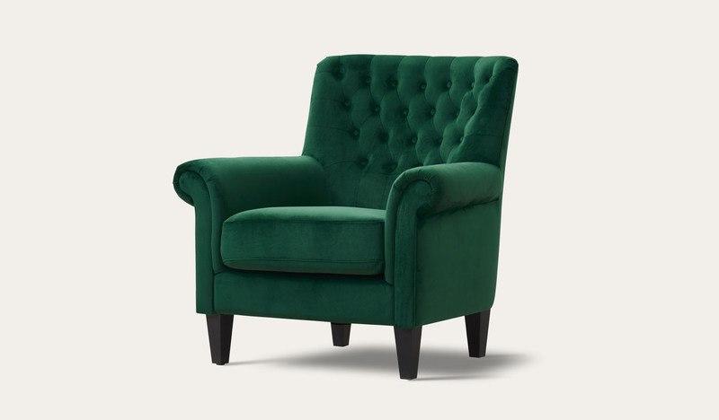 Aella | velvet armchair