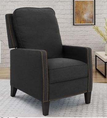 The grey color is cool for a grey bedroom chair for your ...
