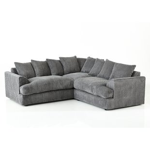 Real Leather Corner Sofa | Wayfair.co.uk